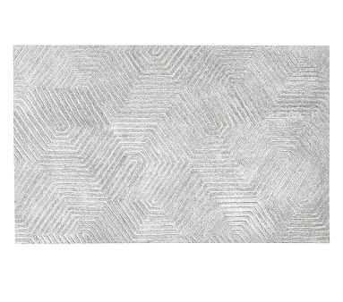 Maze Rug, 5x8', Grey - Pottery Barn Kids