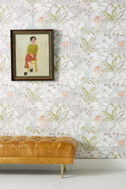 Flowering Desert Wallpaper - Anthropologie