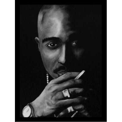 'Tupac Shakur' Acrylic Painting Print - Wayfair