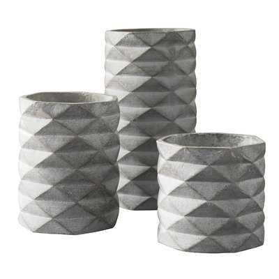 3 Piece Table Vase Set - Wayfair