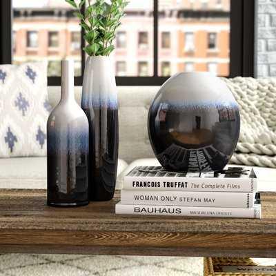 Macy 3 Piece Ceramic Table Vase Set - Wayfair