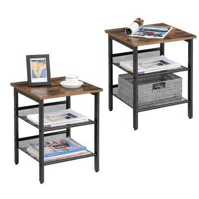 Canby End Table (set of 2) - Wayfair
