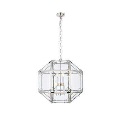 Puccio 4-Light Foyer Pendant - Wayfair