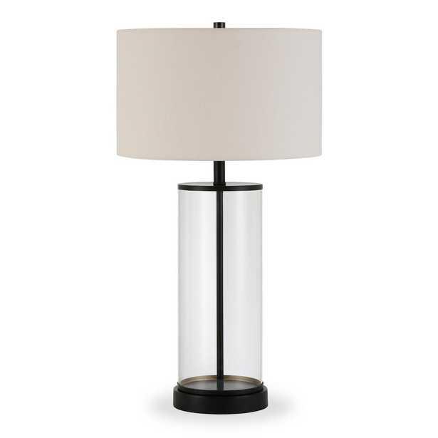 Hudson&Canal Rowan 28 in. Bronze Table Lamp - Home Depot