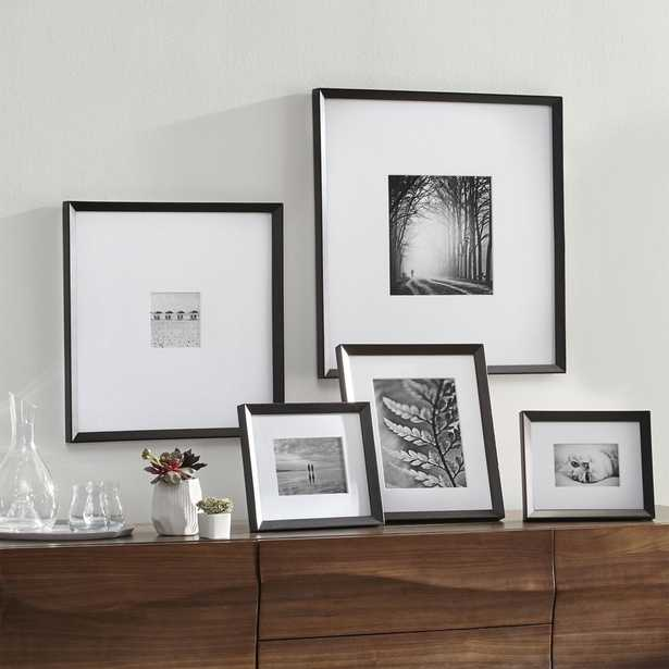 Icon Black Frame Gallery, Set of 5 - Crate and Barrel