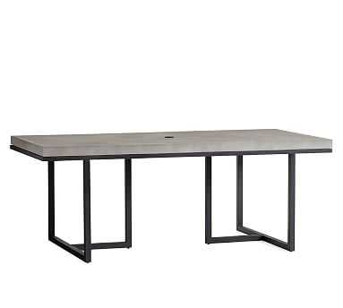 Sloan Concrete Dining Table - Pottery Barn