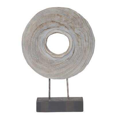 Bovina Wood Round Table Top Decor - Wayfair