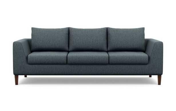 Asher Sofa with Rain Fabric and Oiled Walnut legs - Interior Define