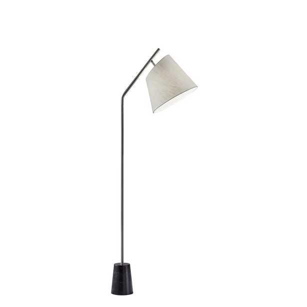Adesso Dempsey 59 in. Steel Floor Lamp - Home Depot