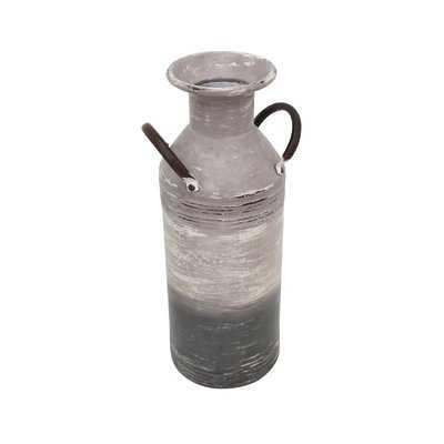 Loughman Metal Milk Can Table Vase - Wayfair