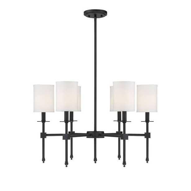 Filament Design 6-Light Classic Bronze Chandelier - Home Depot