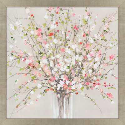 'Peach Blossom' Framed Print - Wayfair