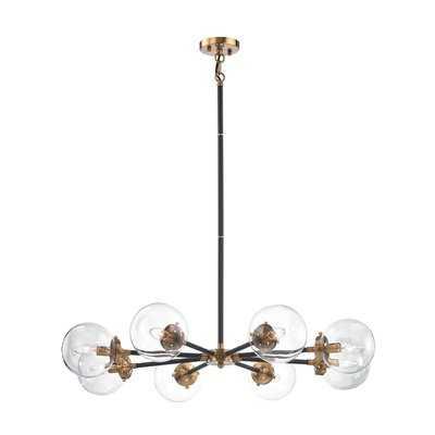 Shontelle 8 - Light Sputnik Sphere Chandelier - AllModern
