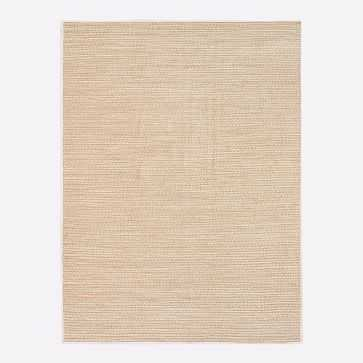 Woven Cable Indoor/Outdoor Rug, Natural, 8'x10' - West Elm