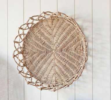 Jasper Basket Wall Art, Natural - Small - Pottery Barn