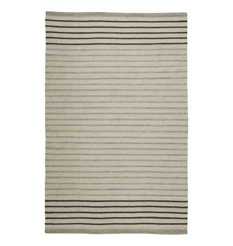 Striped Dhurrie Flatweave Rug 8 x 10 - Rejuvenation