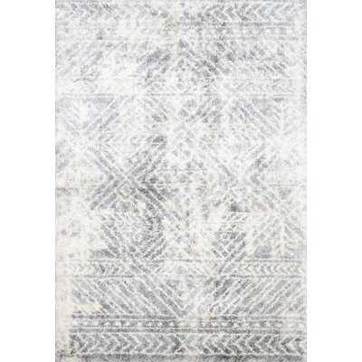 Loretta Cream/Gray Area Rug - Wayfair