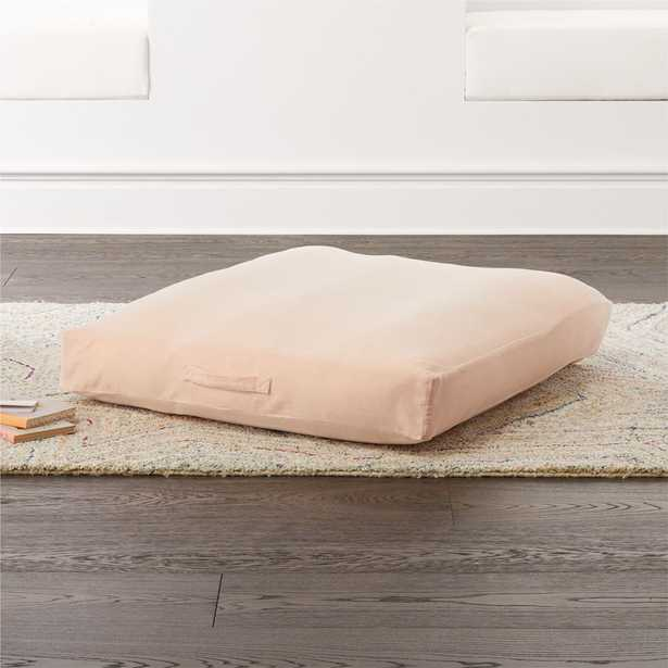 Pink Velvet Cushion - Crate and Barrel