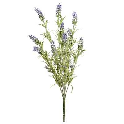 Artificial Lavender Leaf Spray Branch (set of 6) - Wayfair