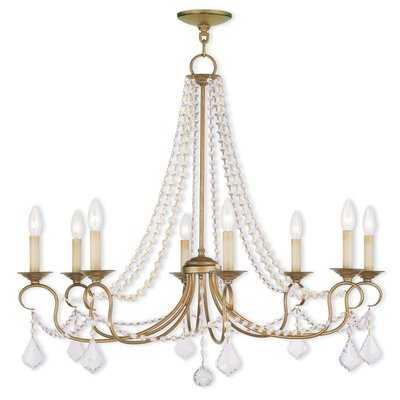 Devana 8-Light Candle-Style Chandelier - Wayfair