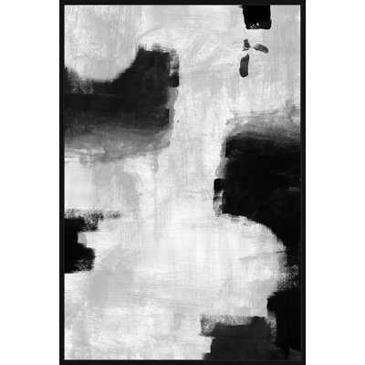 'Profound Caves III' Framed Print on Canvas - Wayfair