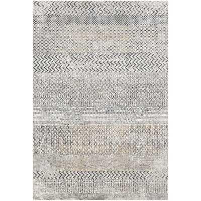 Lysette Modern Tan/Gray Area Rug - Wayfair