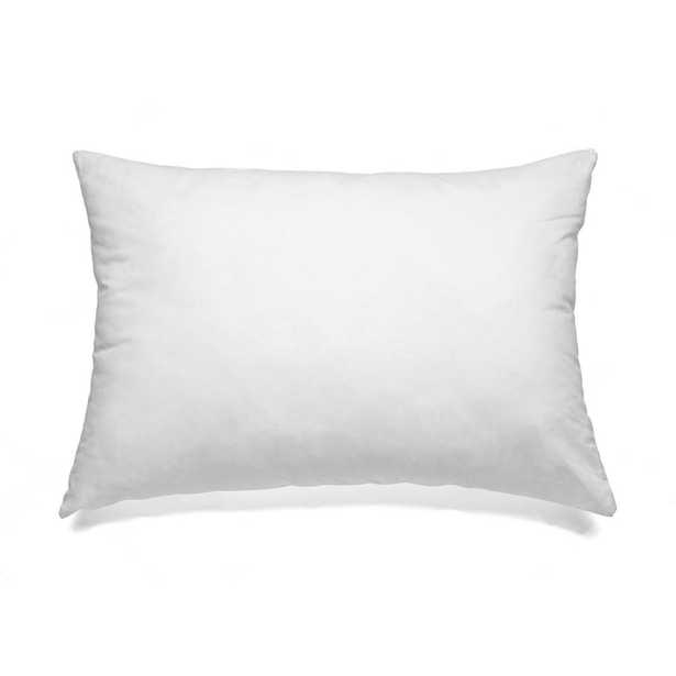 """A1 Home Collections White Sterilized Feather Down Extra Fluff and Durable Pillow Insert (Set of 2), White-16""""x22"""" - Home Depot"""