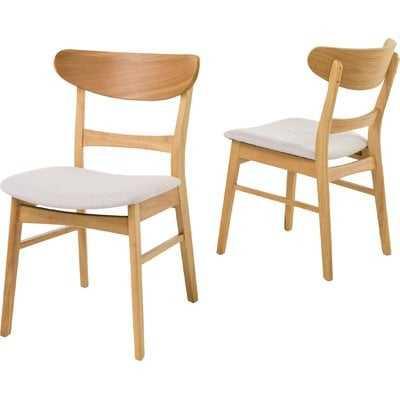 Chisdock Solid Wood Dining Chair - Wayfair