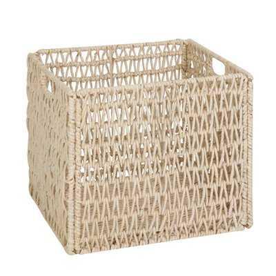 Storage Wicker Basket - Wayfair