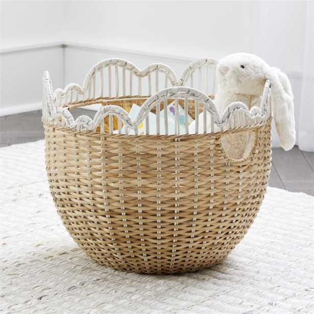 Cloud Floor Basket - Crate and Barrel