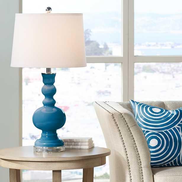 Mykonos Blue Apothecary Table Lamp - Style # 29E62 - Lamps Plus