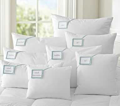 "Synthetic Lumbar Pillow Insert, 21"" x 12"" - Pottery Barn Kids"