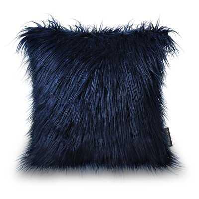 Birchwood Indoor/Outdoor Faux Fur Pillow Cover - Wayfair