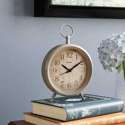 Metal Table Clock - Birch Lane