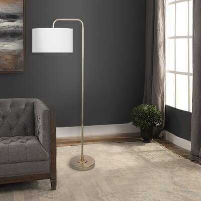 """Dale 63.75"""" Arched Floor Lamp - Birch Lane"""