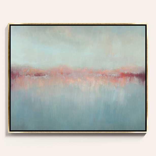 Ballard Designs Morning Blush Framed Canvas  30 x 38 - Ballard Designs