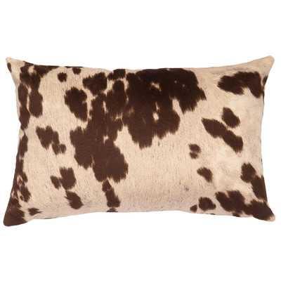 Chontel Faux Hair on Hide Lumbar Pillow - Wayfair