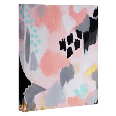 Serenity Abstract Painting Print on Wrapped Canvas - Wayfair