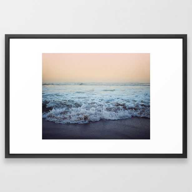 Crash into Me Framed Art Print by Floresimagespdx - Society6