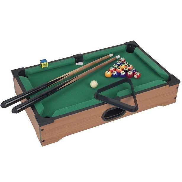 Mini Table Top Pool Table - Home Depot
