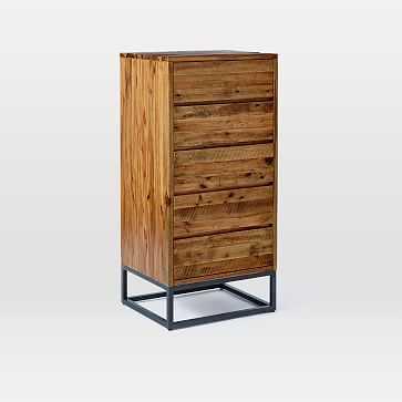 Logan 5-Drawer Dresser, Natural - West Elm