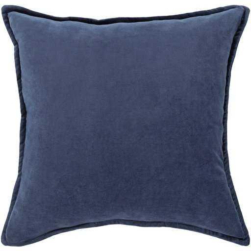 Cotton Velvet : CV-016 - 18 x 18 with Polyester insert - Neva Home