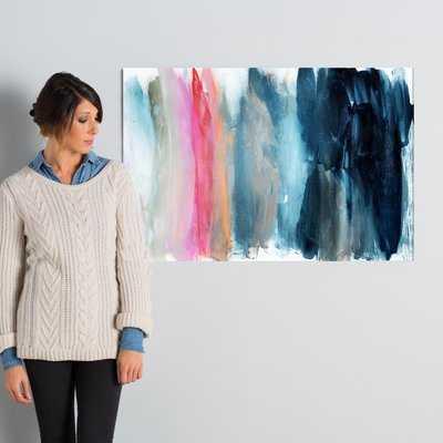 'Parque del Retiro Abstract Art' Wrapped Canvas Print - Wayfair