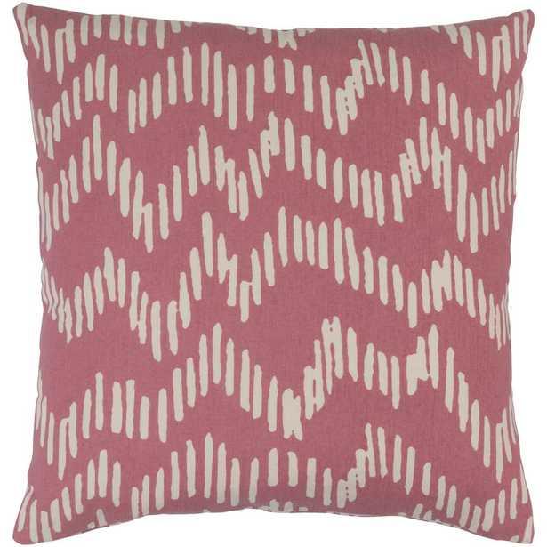 Calverley Poly Euro Pillow, Pink - Home Depot