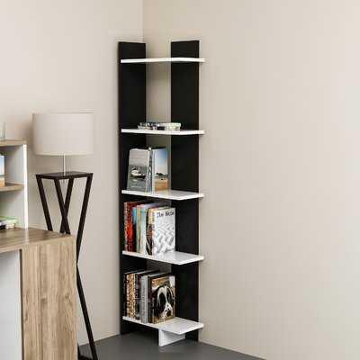 Lynnfield Corner Bookcase - Wayfair
