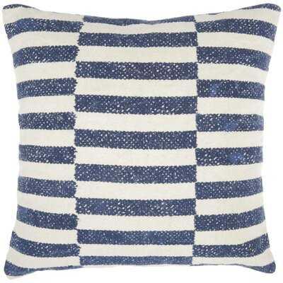 Aurora Cotton Striped Throw Pillow - AllModern