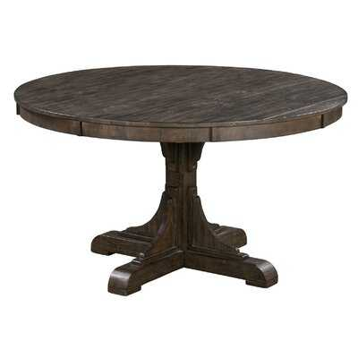 """Poar 54"""" Round Recycled Pine Dining Table - Wayfair"""