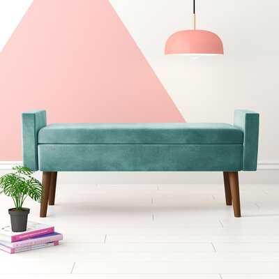 Mosier Upholstered Storage Bench - Wayfair