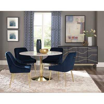 Chilmark Upholstered Dining Chair- Set of 2 - Wayfair