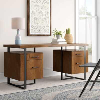 Alana Elizabethtown Double Pedestal Desk - Wayfair